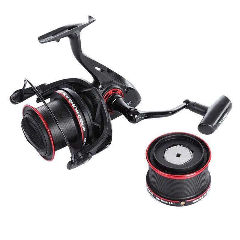 3X12 Bolas  2 Rodamientos Carretes de pesca de metal Canas de pescar Carre V9