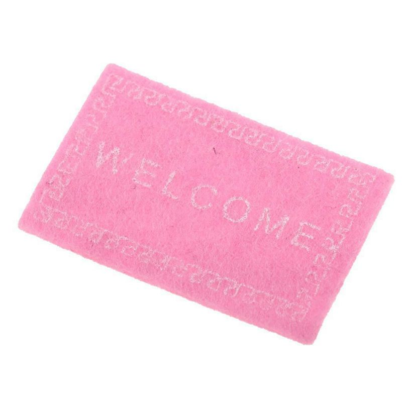 Doll-House-Miniature-carpet-WELCOME-Mat-Dollhouse-Accessories-Home-amp-Living-L1N5 thumbnail 5