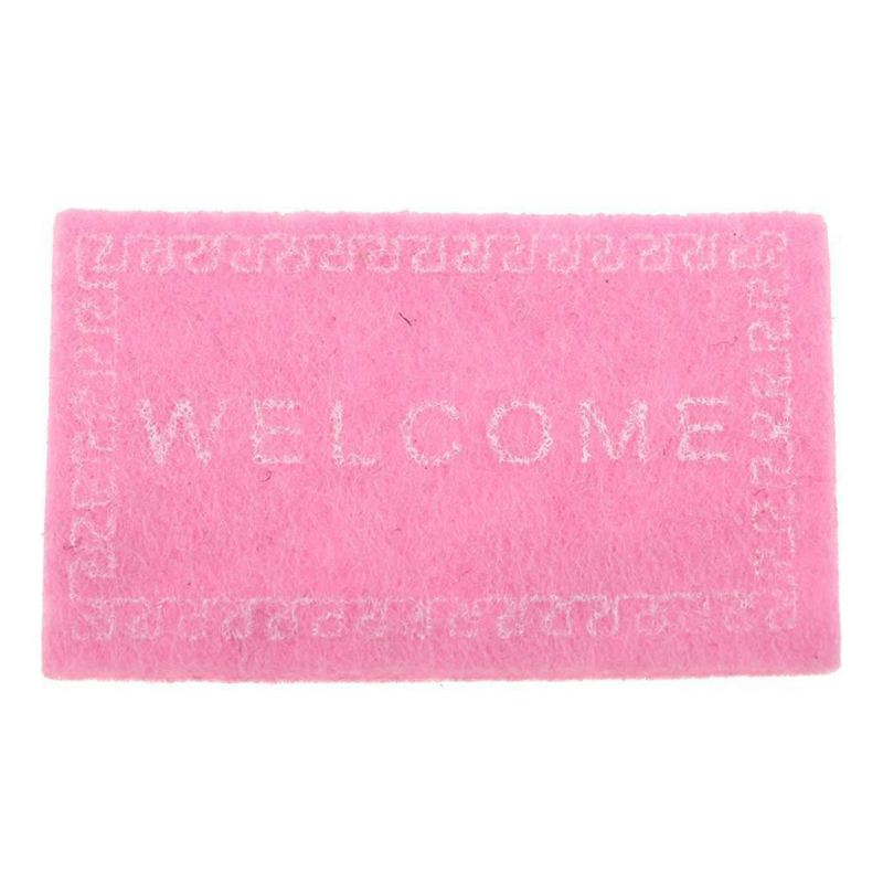 Doll-House-Miniature-carpet-WELCOME-Mat-Dollhouse-Accessories-Home-amp-Living-L1N5 thumbnail 8