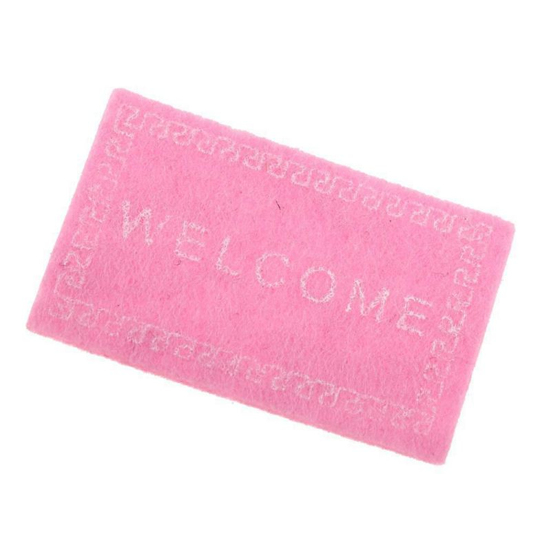 Doll-House-Miniature-carpet-WELCOME-Mat-Dollhouse-Accessories-Home-amp-Living-L1N5 thumbnail 10