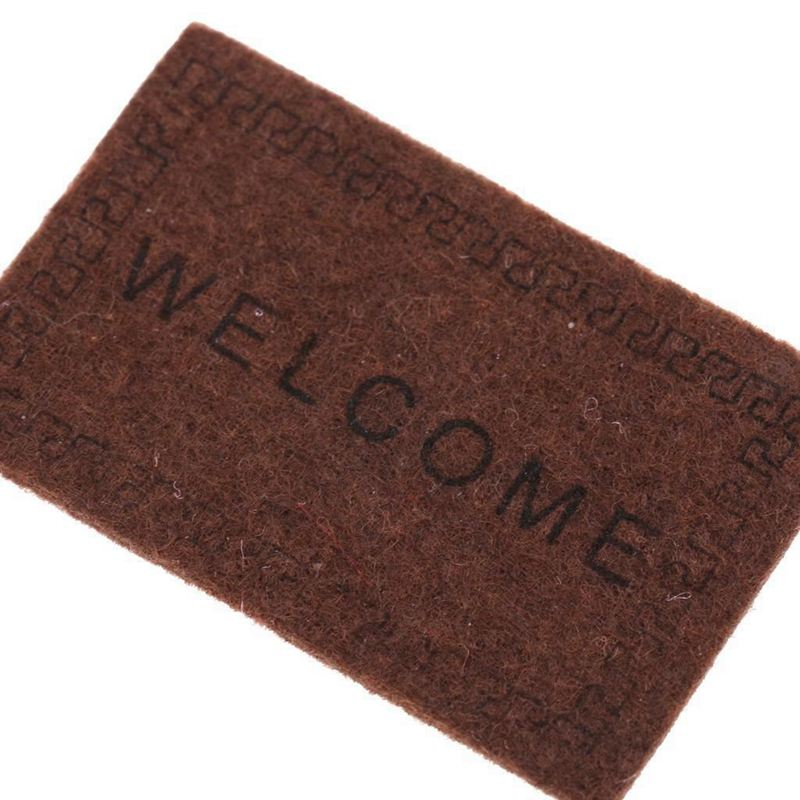Doll-House-Miniature-carpet-WELCOME-Mat-Dollhouse-Accessories-Home-amp-Living-L1N5 thumbnail 14