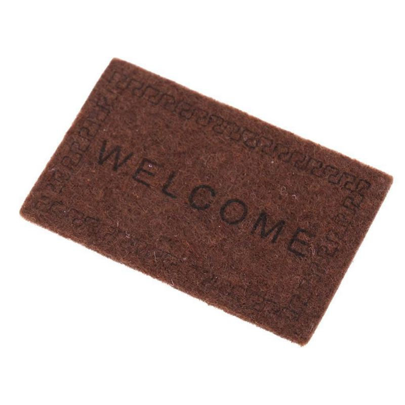 Doll-House-Miniature-carpet-WELCOME-Mat-Dollhouse-Accessories-Home-amp-Living-L1N5 thumbnail 16
