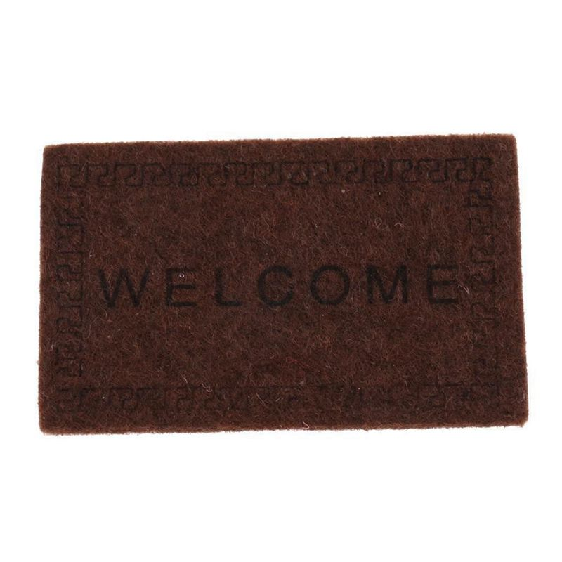 Doll-House-Miniature-carpet-WELCOME-Mat-Dollhouse-Accessories-Home-amp-Living-L1N5 thumbnail 17