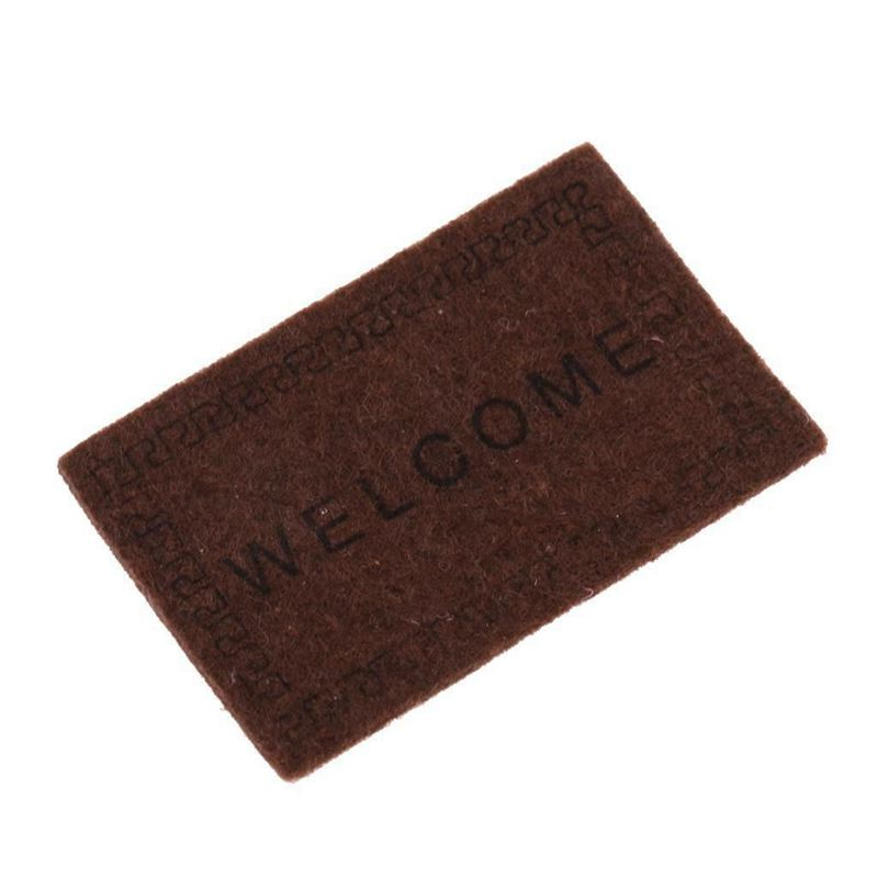 Doll-House-Miniature-carpet-WELCOME-Mat-Dollhouse-Accessories-Home-amp-Living-L1N5 thumbnail 18