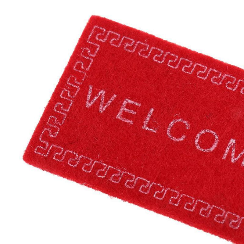 Doll-House-Miniature-carpet-WELCOME-Mat-Dollhouse-Accessories-Home-amp-Living-L1N5 thumbnail 23