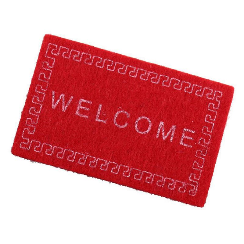 Doll-House-Miniature-carpet-WELCOME-Mat-Dollhouse-Accessories-Home-amp-Living-L1N5 thumbnail 26