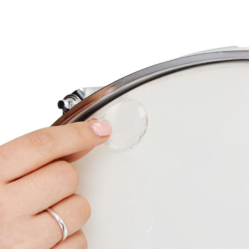 6-teile-satz-Snare-Drum-Mute-Pad-Trommel-Daempfer-Gel-Pads-Snare-Tom-Trom-F5Q3 Indexbild 5