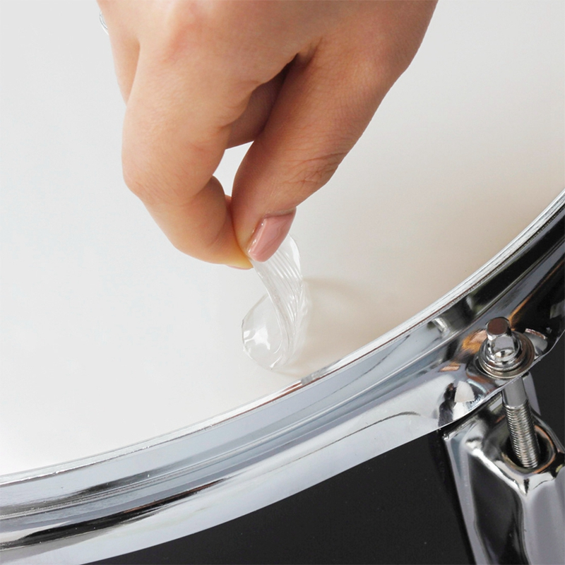 6-teile-satz-Snare-Drum-Mute-Pad-Trommel-Daempfer-Gel-Pads-Snare-Tom-Trom-F5Q3 Indexbild 6