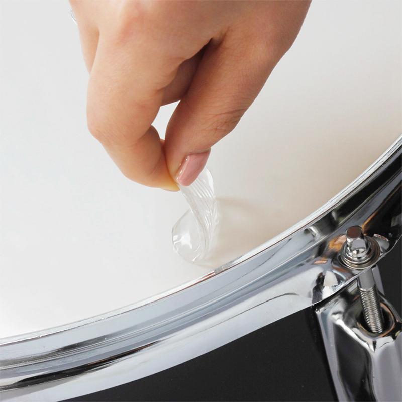 6-teile-satz-Snare-Drum-Mute-Pad-Trommel-Daempfer-Gel-Pads-Snare-Tom-Trom-F5Q3 Indexbild 8
