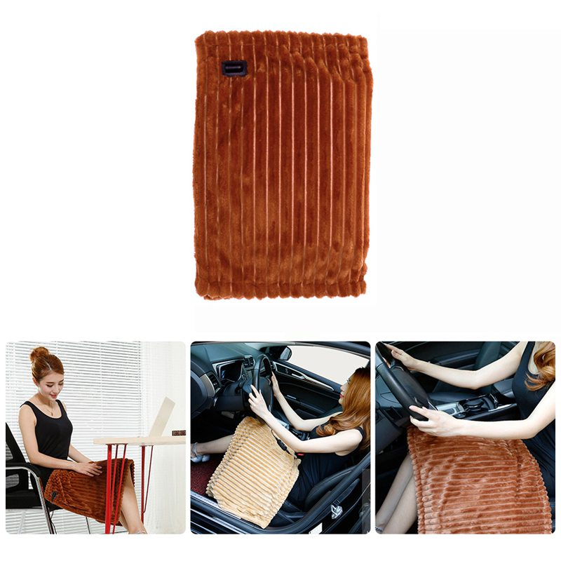 7X(12V Manta de calefaccion electrica del coche lavable plegable Manta de pro Q6