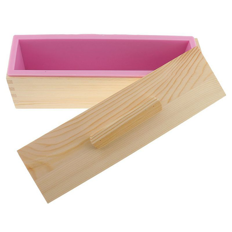 Molde-de-silicona-de-jabon-hecho-a-mano-DIY-Molde-de-jabon-rectangular-co-B3S2 miniatura 3