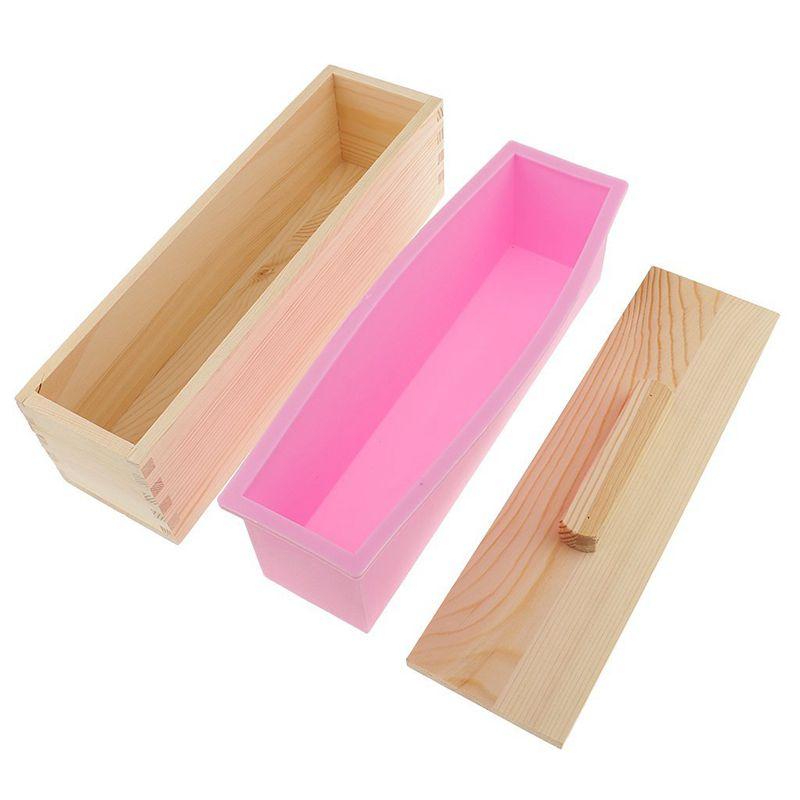 Molde-de-silicona-de-jabon-hecho-a-mano-DIY-Molde-de-jabon-rectangular-co-B3S2 miniatura 4