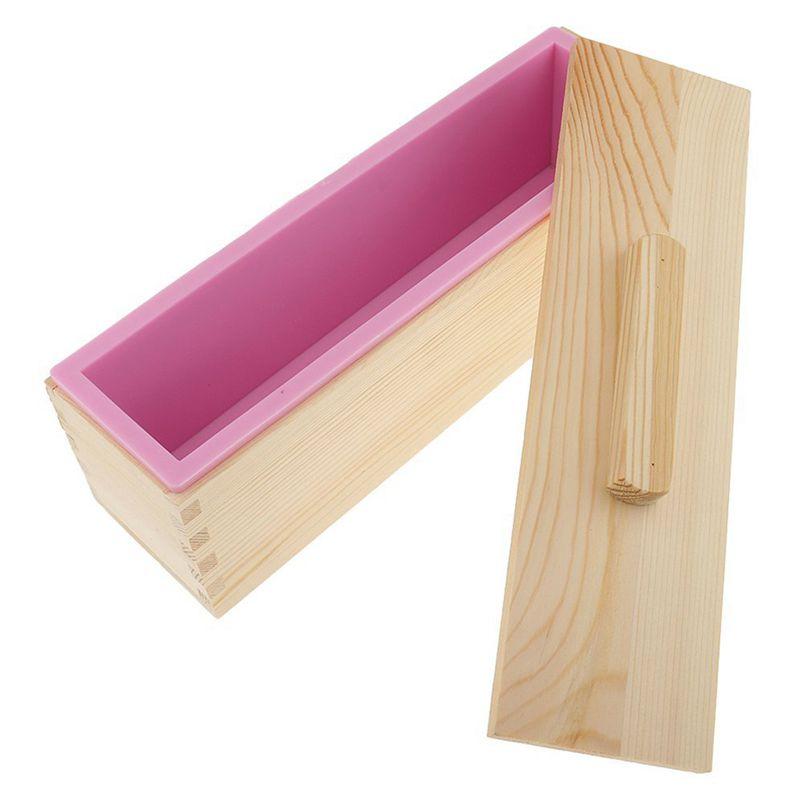 Molde-de-silicona-de-jabon-hecho-a-mano-DIY-Molde-de-jabon-rectangular-co-B3S2 miniatura 5