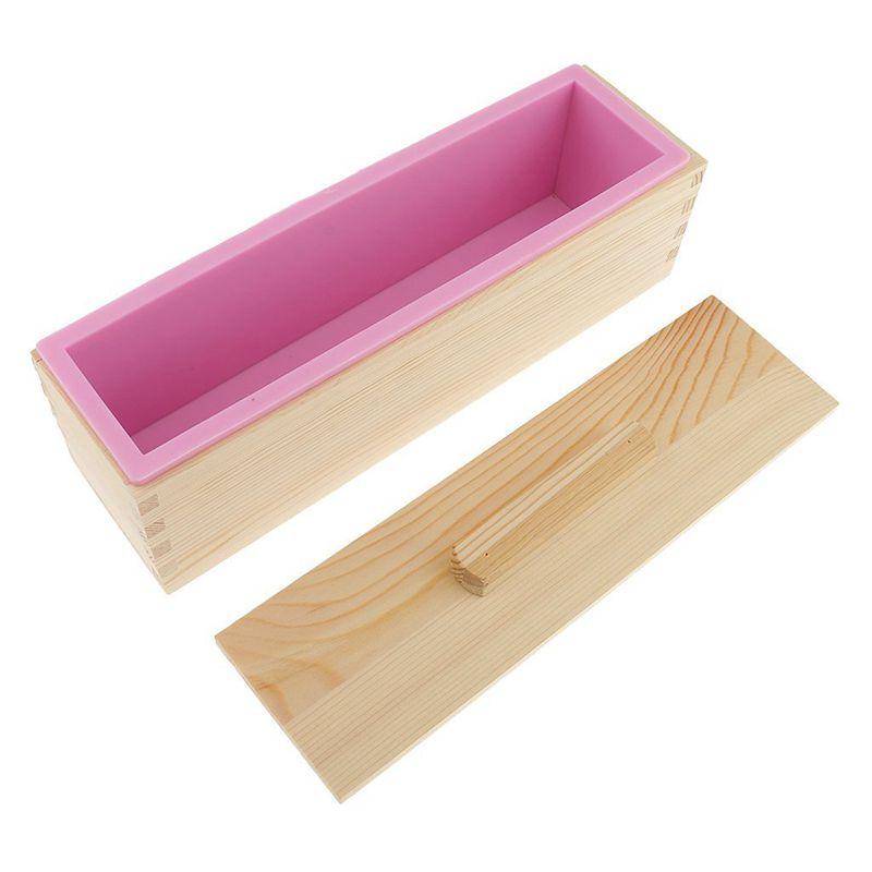 Molde-de-silicona-de-jabon-hecho-a-mano-DIY-Molde-de-jabon-rectangular-co-B3S2 miniatura 6