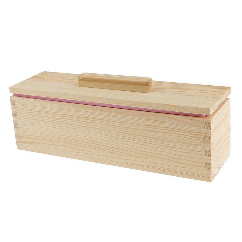 Molde-de-silicona-de-jabon-hecho-a-mano-DIY-Molde-de-jabon-rectangular-co-B3S2 miniatura 7