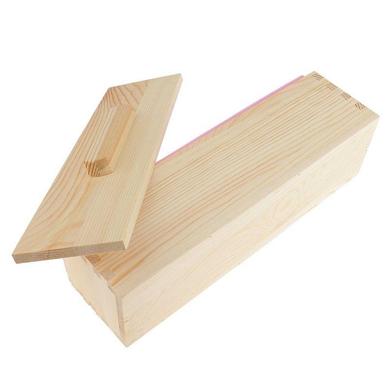 Molde-de-silicona-de-jabon-hecho-a-mano-DIY-Molde-de-jabon-rectangular-co-B3S2 miniatura 8