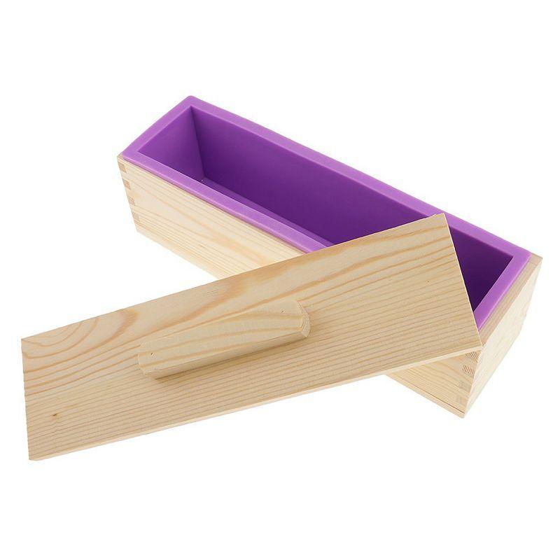 Molde-de-silicona-de-jabon-hecho-a-mano-DIY-Molde-de-jabon-rectangular-co-B3S2 miniatura 11