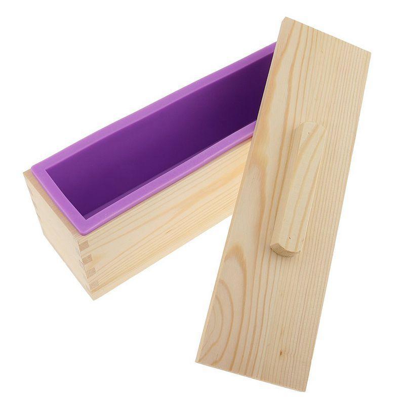 Molde-de-silicona-de-jabon-hecho-a-mano-DIY-Molde-de-jabon-rectangular-co-B3S2 miniatura 12