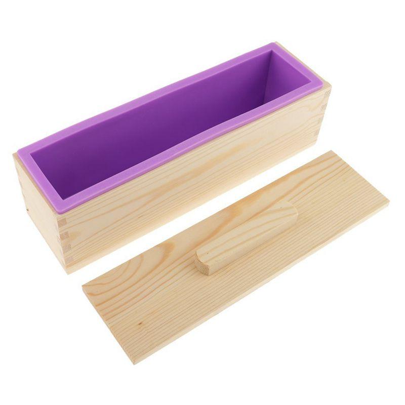 Molde-de-silicona-de-jabon-hecho-a-mano-DIY-Molde-de-jabon-rectangular-co-B3S2 miniatura 13