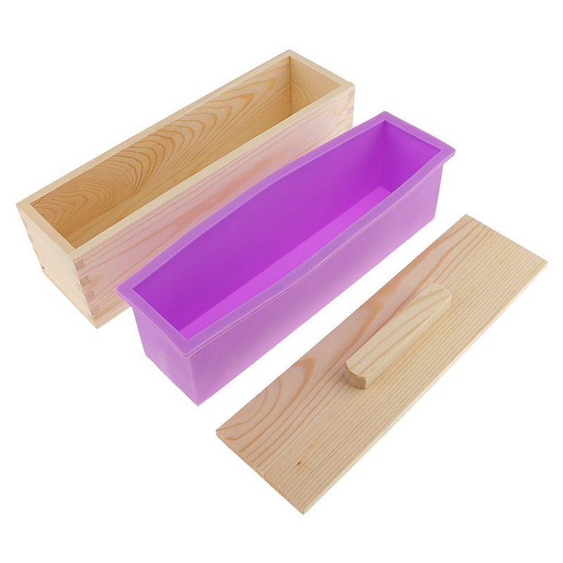 Molde-de-silicona-de-jabon-hecho-a-mano-DIY-Molde-de-jabon-rectangular-co-B3S2 miniatura 14