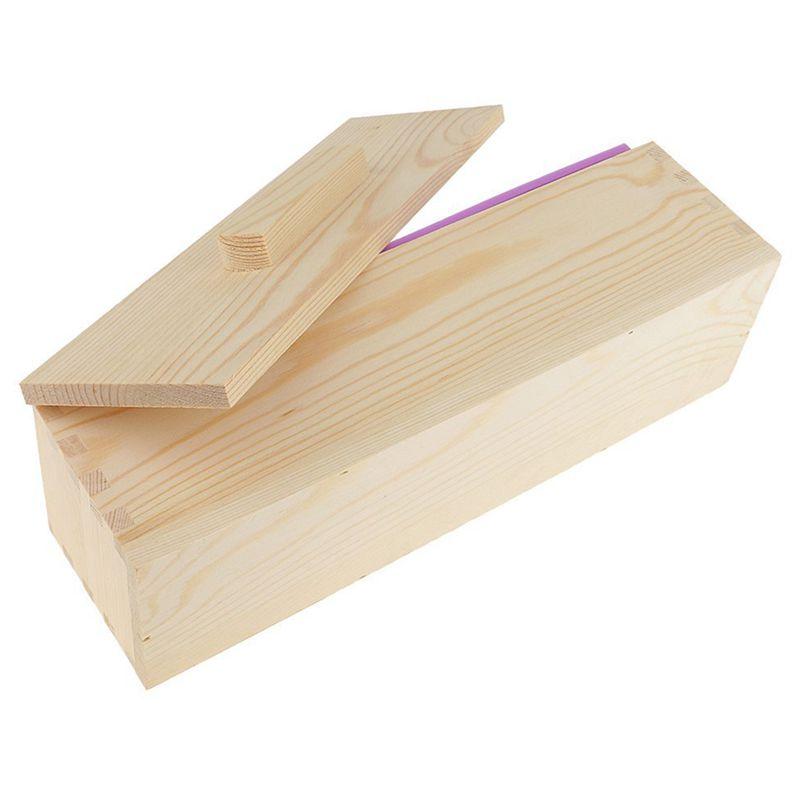 Molde-de-silicona-de-jabon-hecho-a-mano-DIY-Molde-de-jabon-rectangular-co-B3S2 miniatura 15