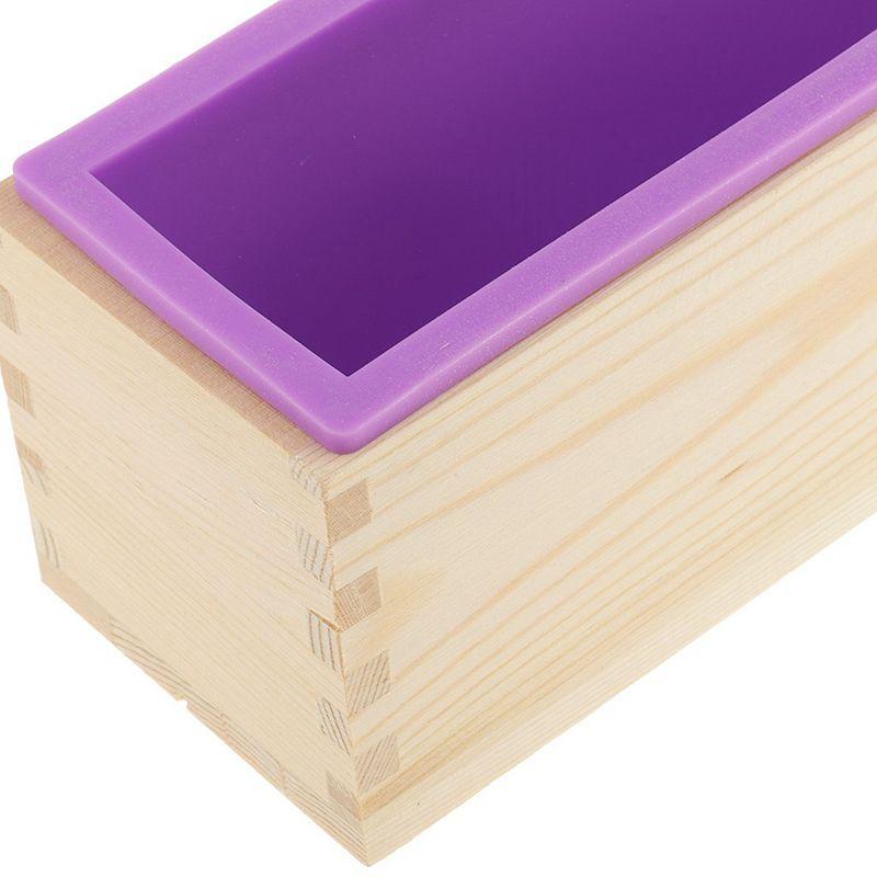 Molde-de-silicona-de-jabon-hecho-a-mano-DIY-Molde-de-jabon-rectangular-co-B3S2 miniatura 17