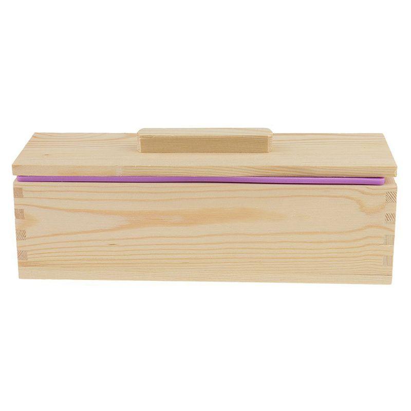 Molde-de-silicona-de-jabon-hecho-a-mano-DIY-Molde-de-jabon-rectangular-co-B3S2 miniatura 10