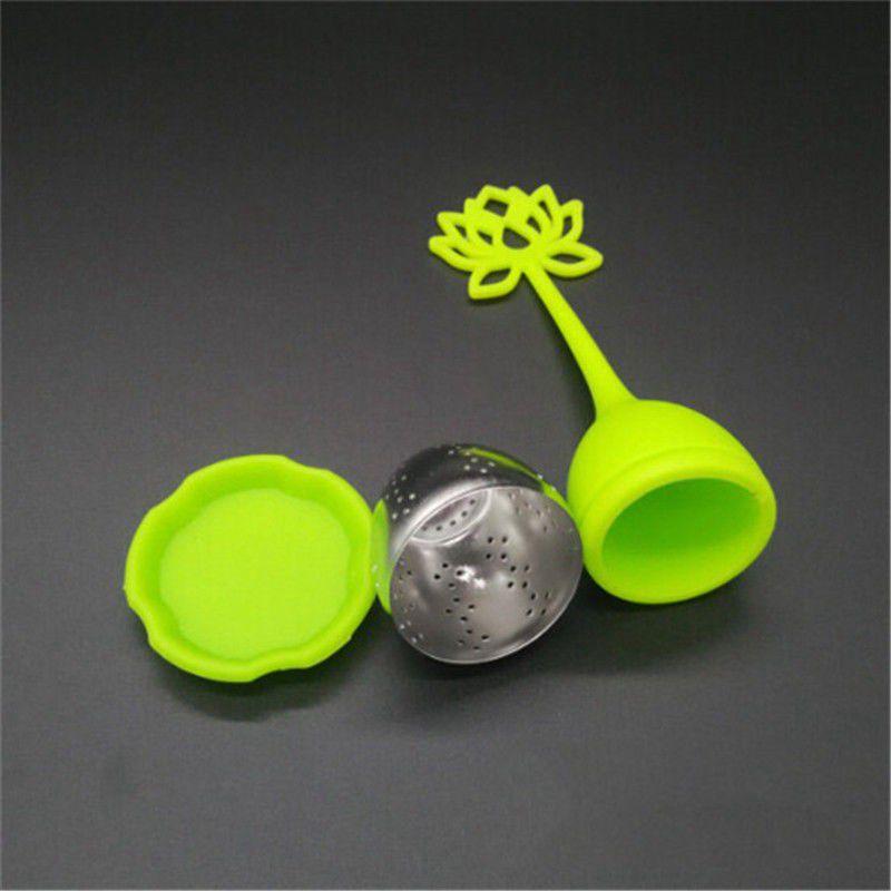 1-pcs-En-Silicone-En-Forme-De-Lotus-En-Acier-Inoxydable-Infuseur-A-The-Tass-C8L1 miniature 4