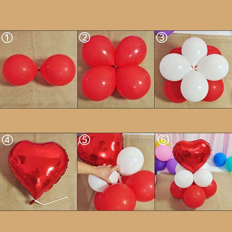 5X-Numero-ballon-0-9-Ballon-en-latex-Nombre-enorme-Ballon-Ballon-en-alumi-L8L7 miniature 5