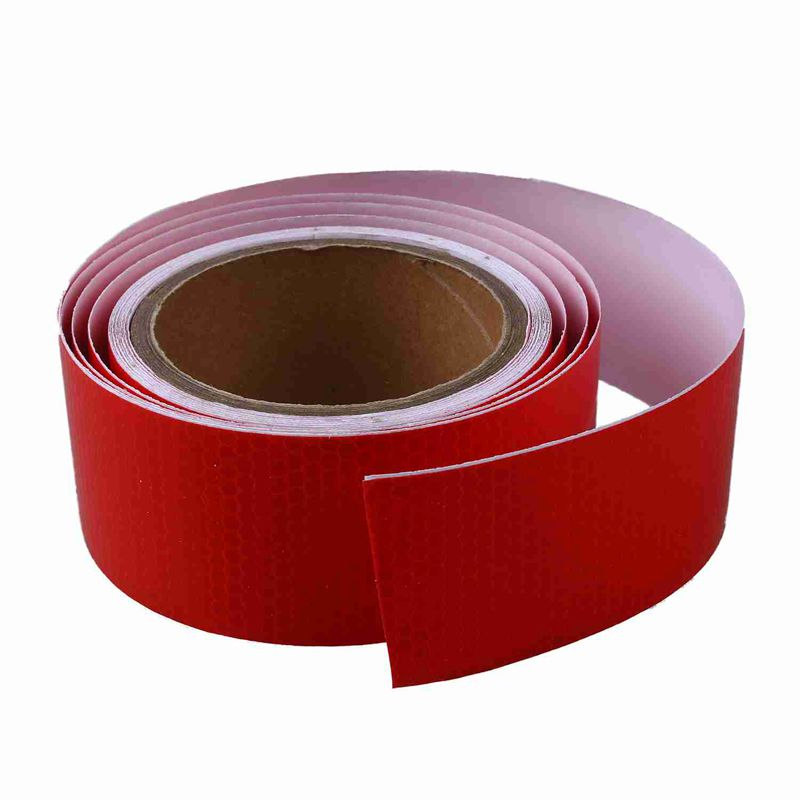 10m x 5cm self adhesive tape light reflecting tape red t1r5 image is loading 10m x 5cm self adhesive tape light reflecting aloadofball Gallery