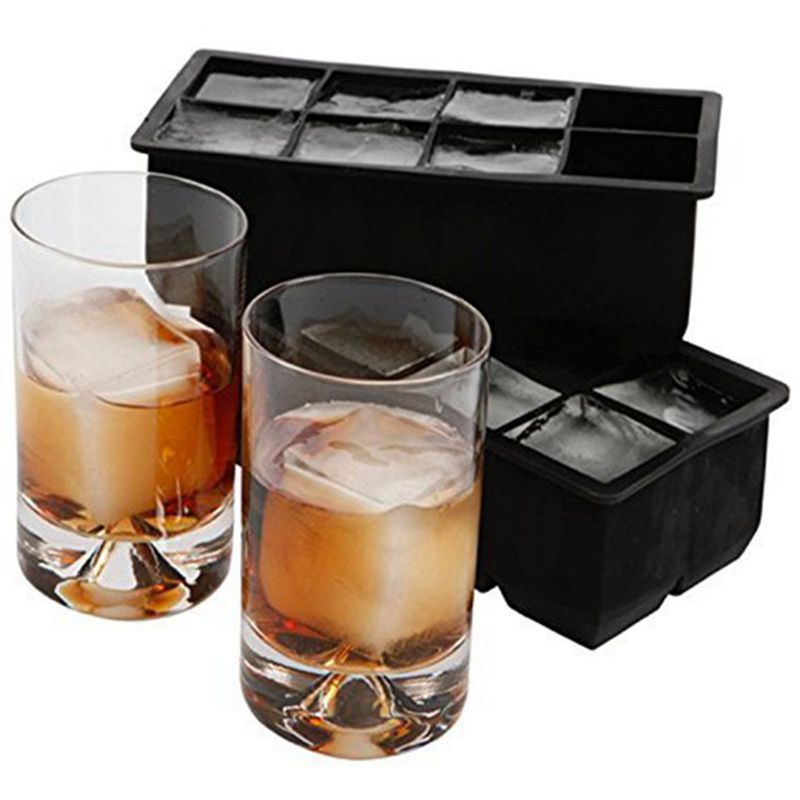 10-24 Grids Giant Jumbo Large Size Silicone Ice Cube Mold Square Tray Mould DIY
