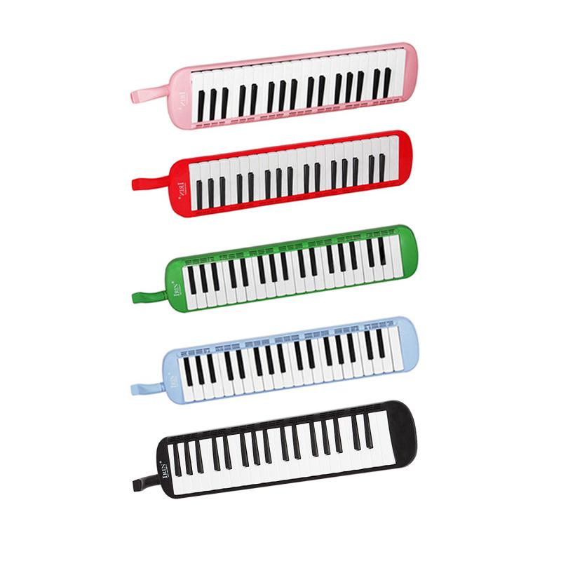 2X(IRIN 37 Klavier Stil Tasten Melodica Mit Hartschalenkoffer Kinder Student L9)