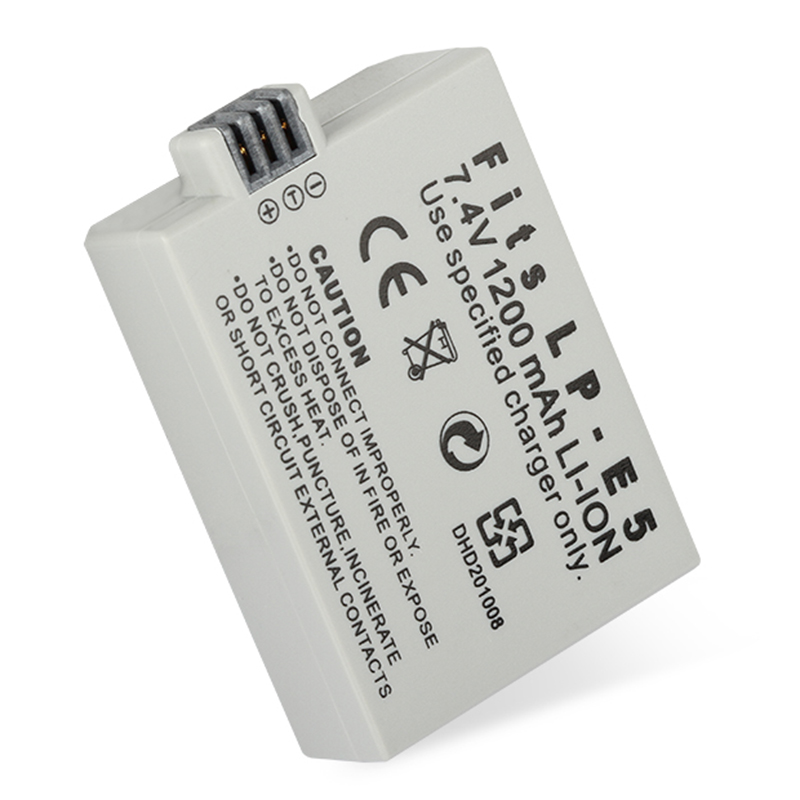 For-EOS-450D-500D-1000D-Camera-Battery-LP-E5-Charger-S6K2