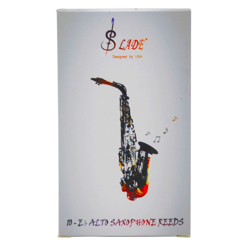 SLADE-10-pcs-Box-High-Grade-Eb-Alto-Saxophone-Reed-Sax-Bamboo-Reeds-Strength-I3