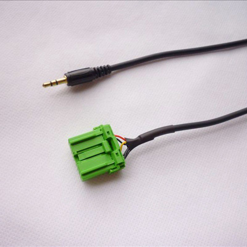 4X-Conector-verde-de-14-pines-Cable-estereo-de-3-5-mm-Jack-Audio-Aux-in-Cabl-N7