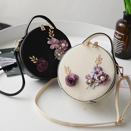 2X-Damen-Tasche-Damen-Handtaschen-Leder-Schultertasche-Crossbody-Tote-Handt-B8H2 Indexbild 8