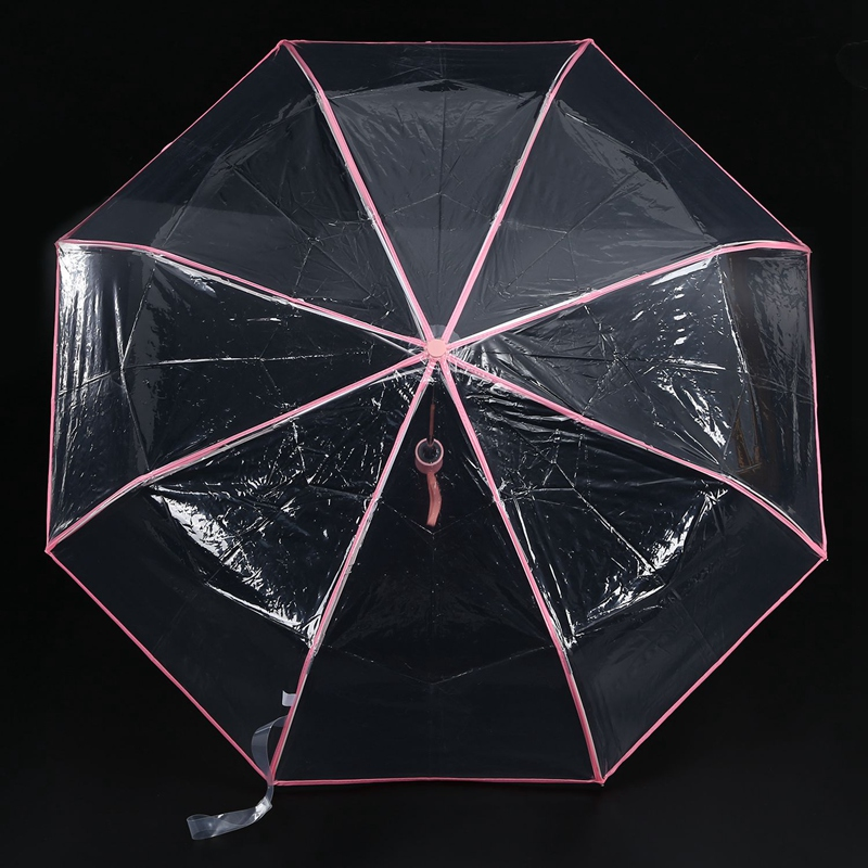 Transparenter-Regenschirm-automatischer-Regenschirm-Regen-Frauen-Maenner-Su-J7A9 Indexbild 6