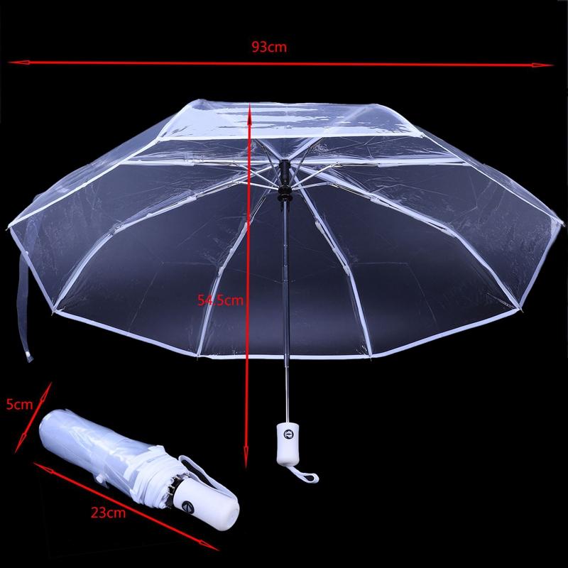 Transparenter-Regenschirm-automatischer-Regenschirm-Regen-Frauen-Maenner-Su-J7A9 Indexbild 12