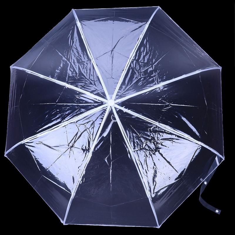Transparenter-Regenschirm-automatischer-Regenschirm-Regen-Frauen-Maenner-Su-J7A9 Indexbild 13