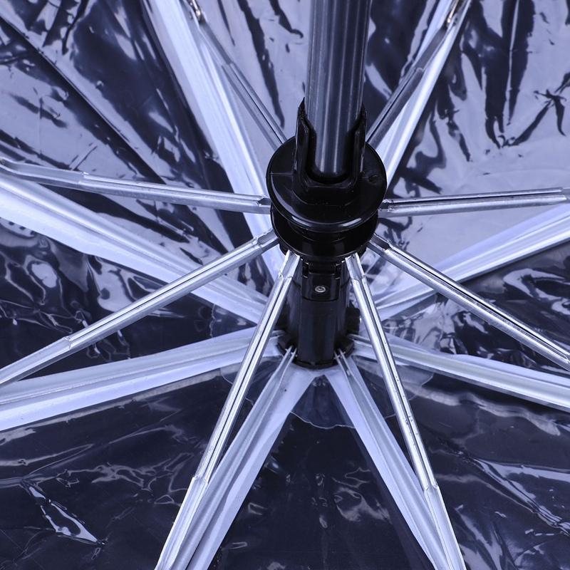 Transparenter-Regenschirm-automatischer-Regenschirm-Regen-Frauen-Maenner-Su-J7A9 Indexbild 17