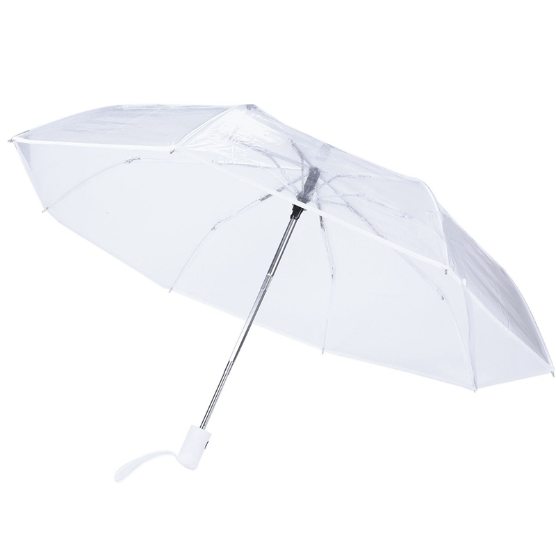 79ec7f152386 Details about Transparent Umbrella Automatic Umbrella Rain Women Men Sun  Rain Auto Umbrel F2D4
