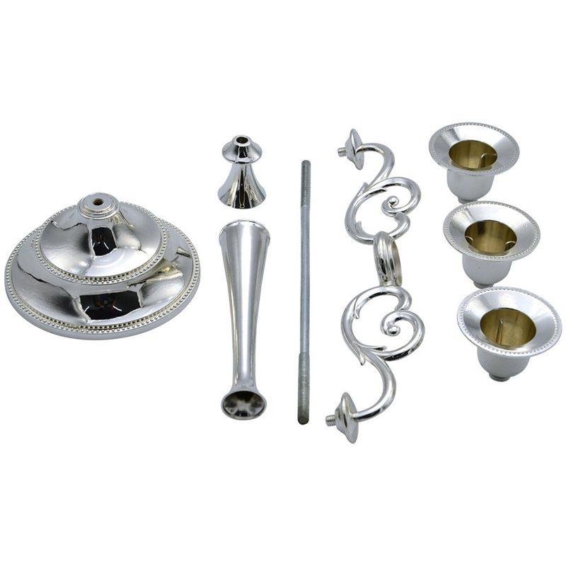 3-Candelabre-en-metal-pour-bougie-Grand-bougeoir-Candelabre-de-l-039-evenement-R5F4 miniature 15