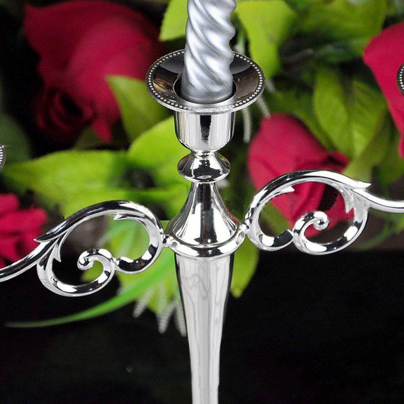 3-Candelabre-en-metal-pour-bougie-Grand-bougeoir-Candelabre-de-l-039-evenement-R5F4 miniature 17