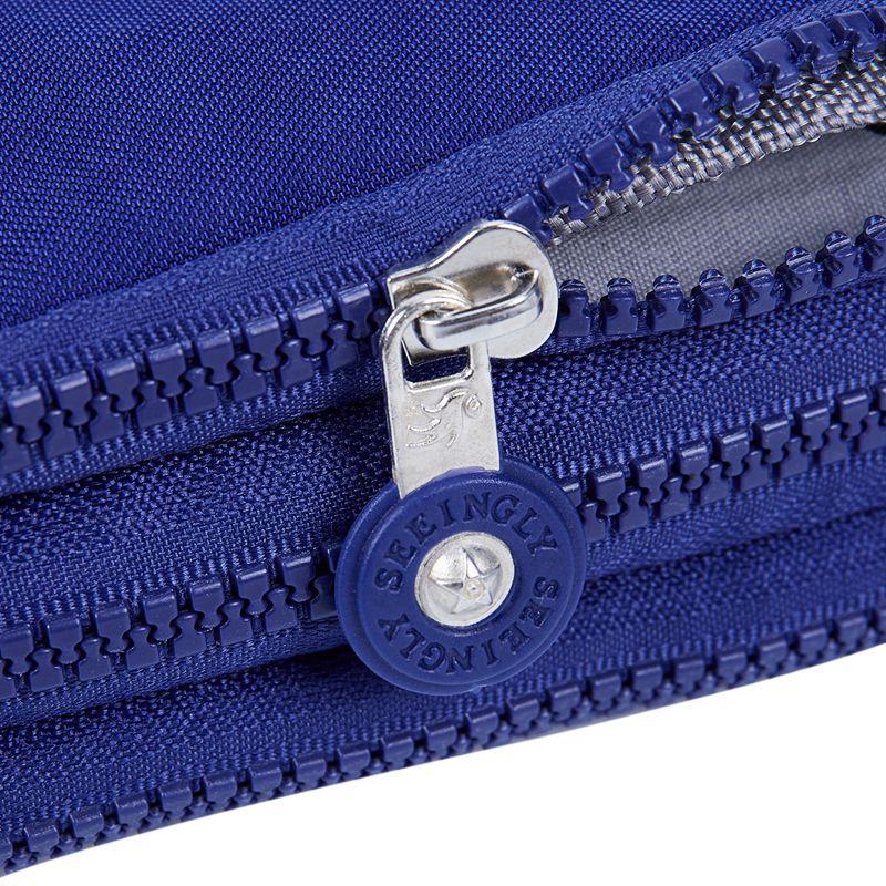 Petit-portefeuille-de-femmes-lavable-Porte-monnaie-en-tissu-froisse-de-tele-H8O0 miniature 23