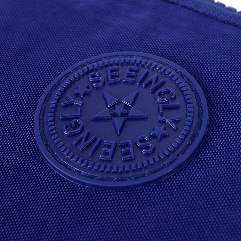 Petit-portefeuille-de-femmes-lavable-Porte-monnaie-en-tissu-froisse-de-tele-H8O0 miniature 24
