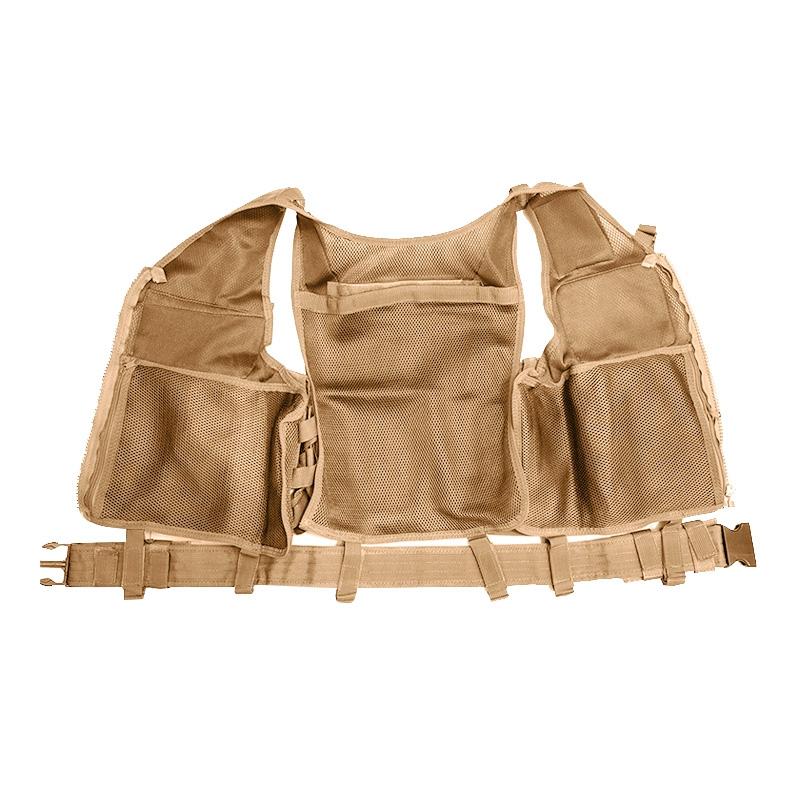 Chaleco-de-hombres-Chaleco-corporal-de-camuflaje-armadura-molle-Equipo-de-j-Y8P5 miniatura 10