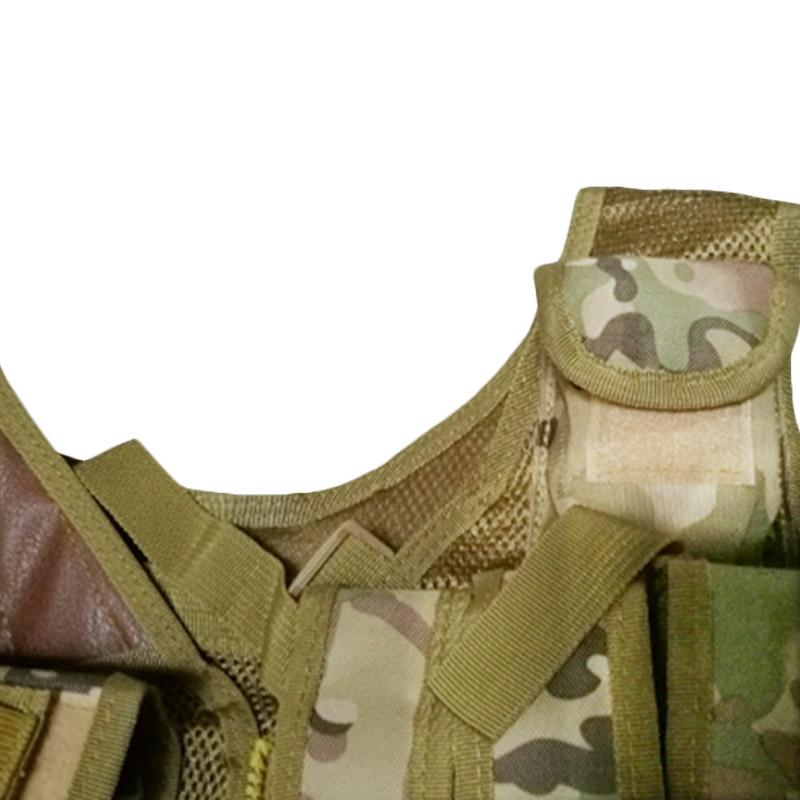 Chaleco-de-hombres-Chaleco-corporal-de-camuflaje-armadura-molle-Equipo-de-j-Y8P5 miniatura 25