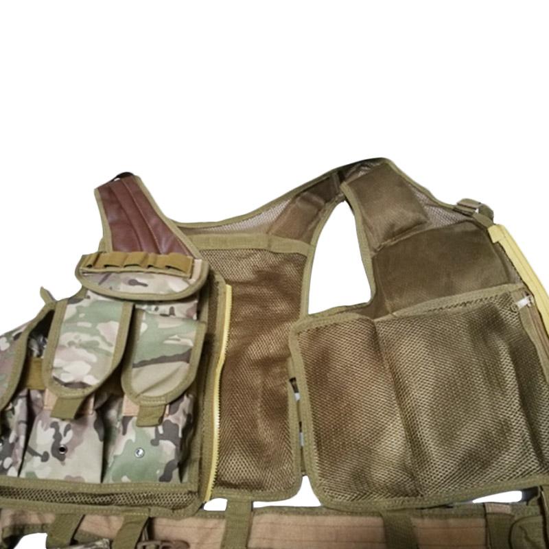 Chaleco-de-hombres-Chaleco-corporal-de-camuflaje-armadura-molle-Equipo-de-j-Y8P5 miniatura 26