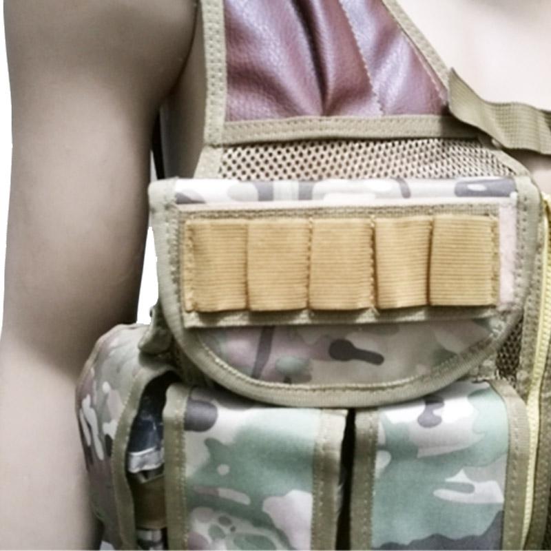 Chaleco-de-hombres-Chaleco-corporal-de-camuflaje-armadura-molle-Equipo-de-j-Y8P5 miniatura 28