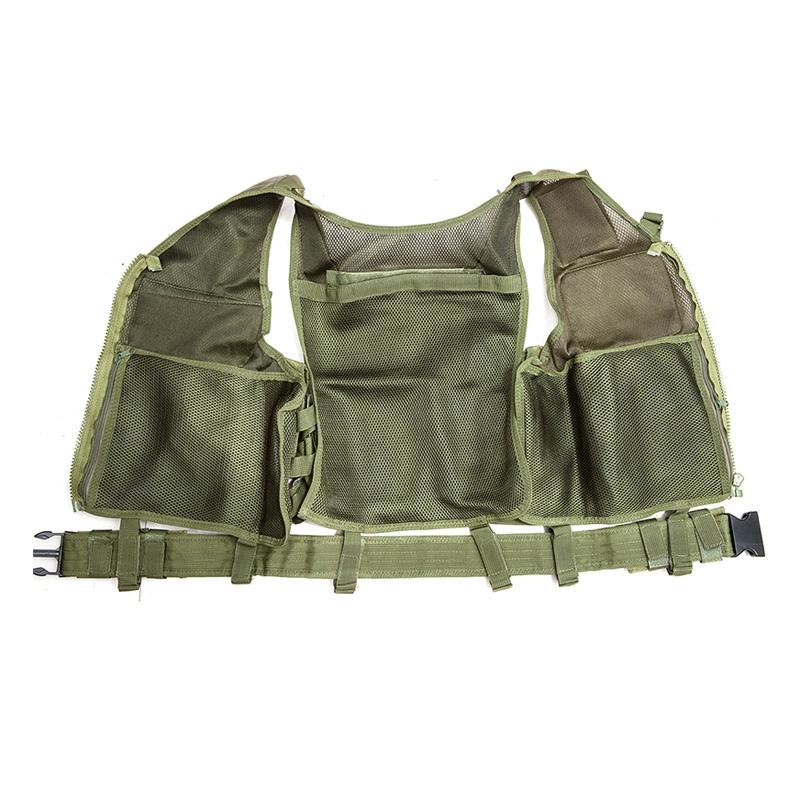 Chaleco-de-hombres-Chaleco-corporal-de-camuflaje-armadura-molle-Equipo-de-j-Y8P5 miniatura 32